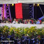 Presidente Daniel Ortega en acto por el 42 Aniversario de la Policía Nacional