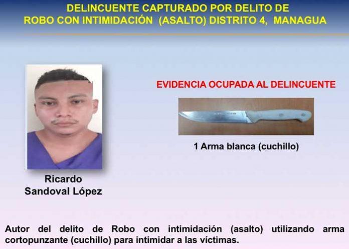 Tras las rejas 41 delincuentes en Managua