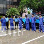 Delincuentes capturados por oficiales de la Policía Nacional