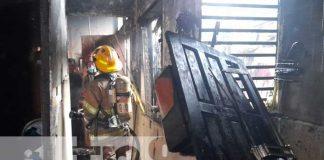 salvan a 3 gatos en voraz incendio en barrio Bóer