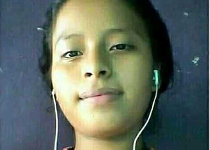 Dulce, una adolescente que desapareció en Managua