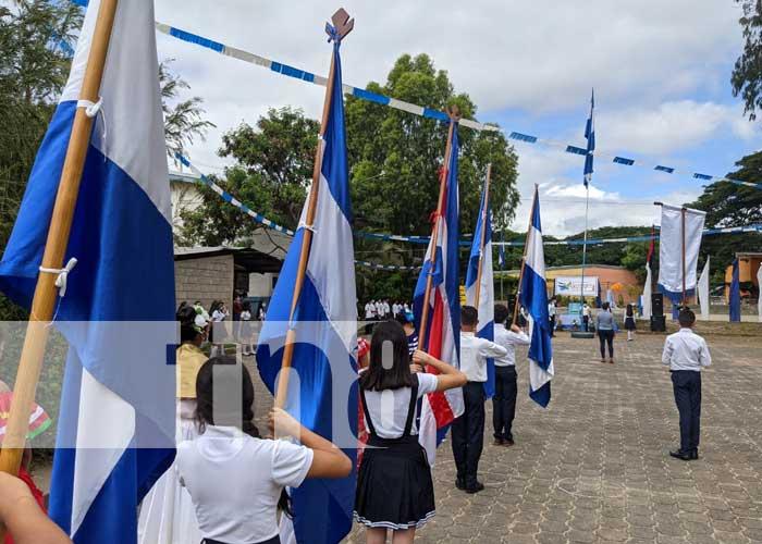 Desfile patrio en Madriz en honor al 14 de septiembre, Batalla de San Jacinto