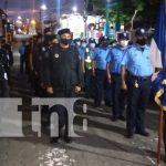 Diana de la Policía Nacional en Boaco