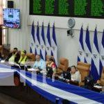 Sesión en la Asamblea Nacional por ley de la educación