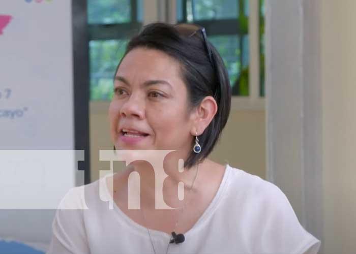 Loyda Barreda, directora ejecutiva de INATEC, como invitada en Estudio TN8