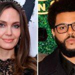 ¿Hay romance? Captan juntos otra vez Angelina Jolie y The Weeknd