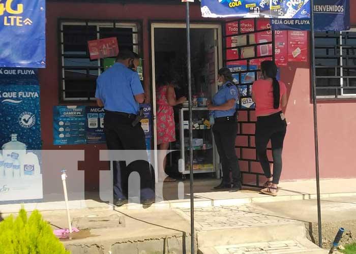 Ladrón deja 'barrida' la caja de una farmacia en barrio de Managua