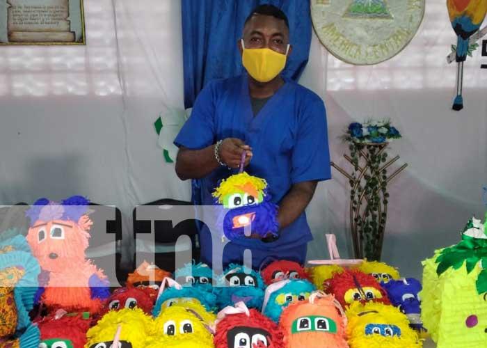 Feria de artesanías y manualidades en sistema penitenciario de Tipitapa