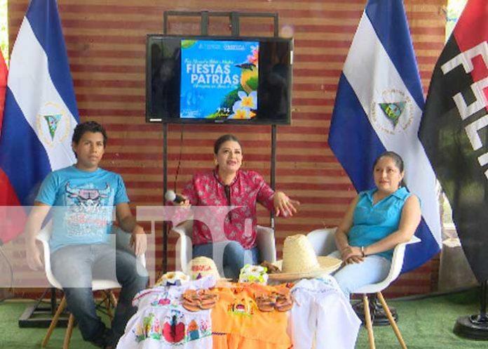 Conferencia de prensa sobre invitación al Parque de Ferias en este fin de semana