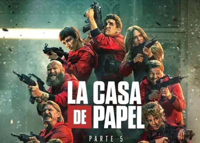 """Netflix causa revuelo con nueva temporada de """"La Casa de Papel 5, vol. 2"""""""