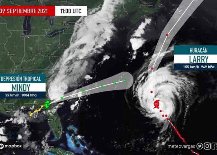 Mindy avanza sobre Georgia como depresión tropical