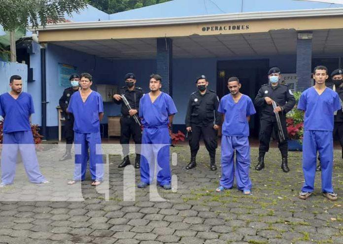 Delincuentes capturados gracias a la Policía en Granada
