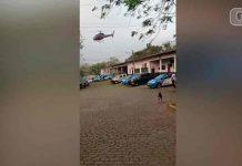 Hombres secuestran helicóptero para sacar a un preso de una cárcel en Brasil