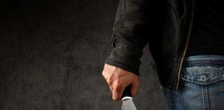 Imagen representativa de un homicidio con cuchillo