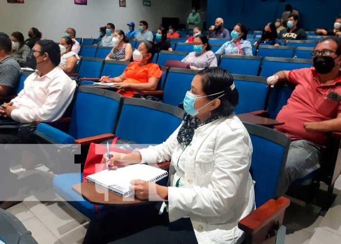 En la capacitación participaron representantes de organizaciones