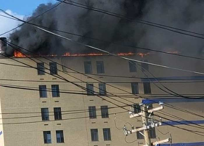 Se registra incendio en hospital St. John de Nueva York