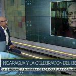 Aldo Díaz Lacayo en entrevista con TeleSUR sobre la independencia de Centroamérica