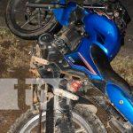 Accidente de tránsito en Jalapa por culpa de un semoviente