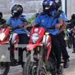 Conmemoración por 42 años de la Policía Nacional en Jalapa