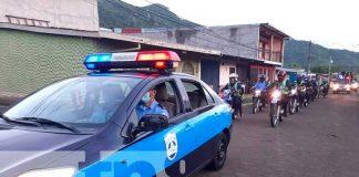 Policía Nacional conmemoró su 42 aniversario de fundación en Jinotega