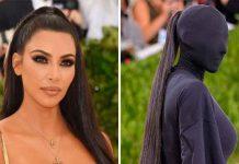 Revelan precio de las extensiones que usó Kim Kardashian en el Met Gala