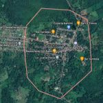 Foto: Imagen de satélite donde ocurrió un homicidio en Kukra Hill / Google Maps