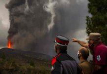 Registran nueva actividad del volcán de la isla de La Palma