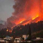 Declaran zona catastrófica isla de La Palma por erupción de volcán