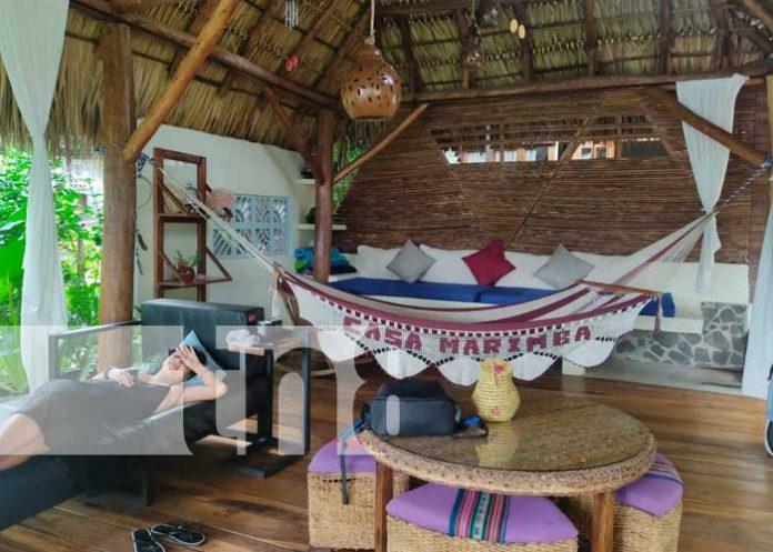 Casa Marimba, lugar para disfrutar vacaciones en la Laguna de Apoyo