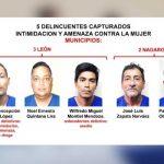 Sujetos a quienes se les hizo captura en León