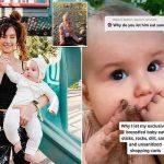 Viral en TikTok: Madre filma a su bebé masticando arena y piedras