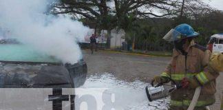 Familias de Madriz participan en el ejercicio de protección a la vida