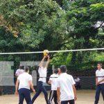 Promueven práctica del voleibol en colegios de Managua