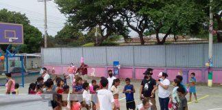 Familias del barrio Carlos Núñez conmemoran a Rigoberto López Pérez