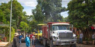 Nuevas cuadras y calles para el barrio Germán Pomares, Managua