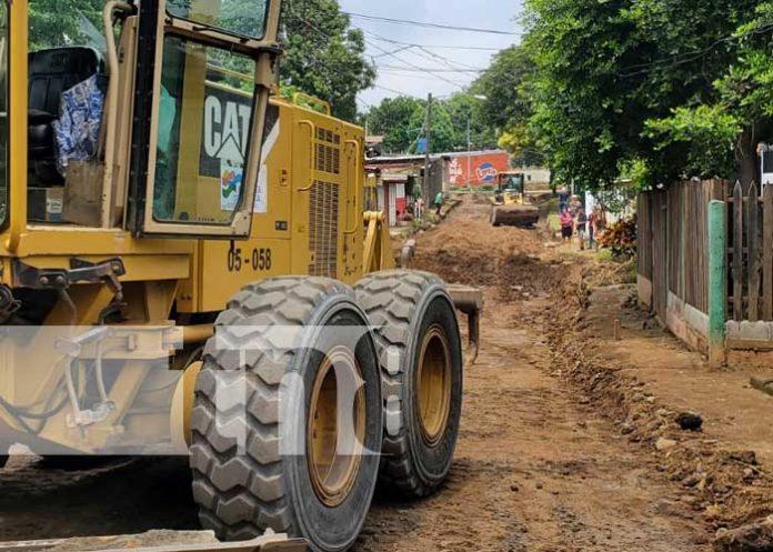 Proyecto de Calles para el Pueblo sigue avanzando en Managua