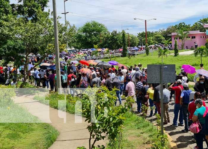 Jornada de vacunación a mayores de 30 años en Managua