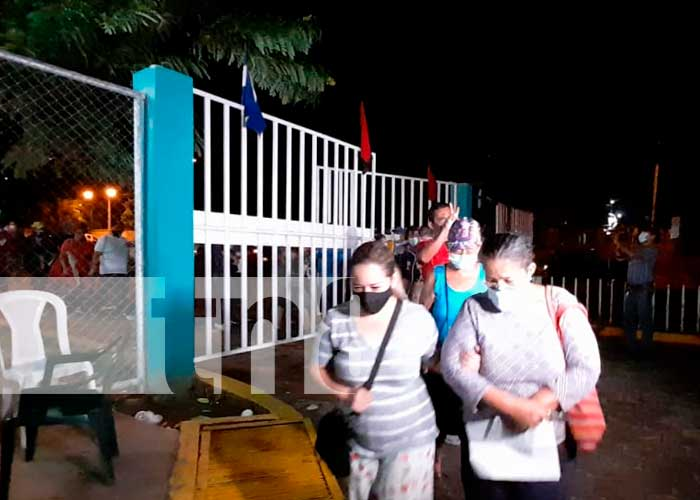 Jornada de vacunación en Managua