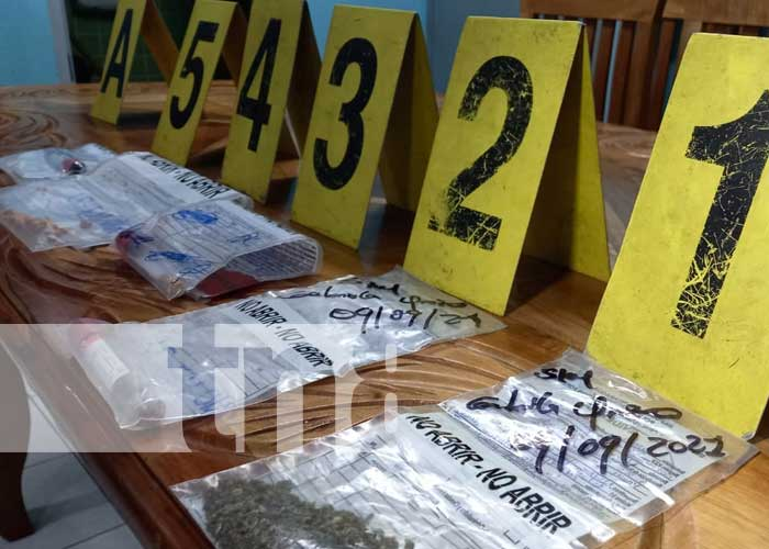 Conferencia de prensa por delitos cometidos en Masaya