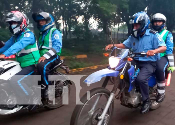 Policía Nacional de Masaya saludó 42 años al servicio del pueblo