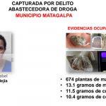 Delincuentes detenidos en Matagalpa