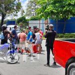 """Se """"come"""" alto y provoca accidente en Managua"""