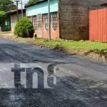 Proyecto de Calles para el Pueblo en el Distrito VI de Managua