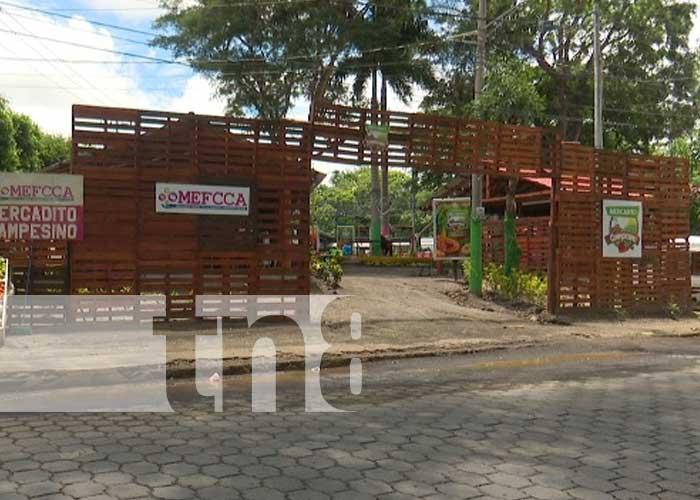 Mercadito Campesino, lugar para disfrutar gastronomía nicaragüense