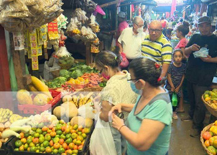 Monitorean precios en la canasta básica en Managua