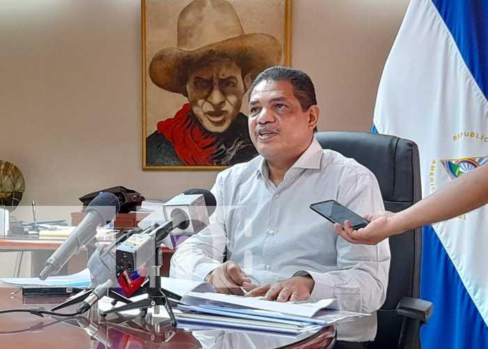 Conferencia de prensa con Hacienda, sobre exportaciones en Nicaragua