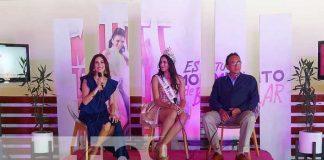Coctel de despedida para el viaje de Gladys Molina, Miss Teen Nicaragua 2020