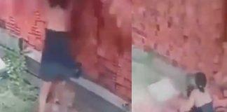 Mujer usa su cuerpo como escudo para que niño no muriera aplastado