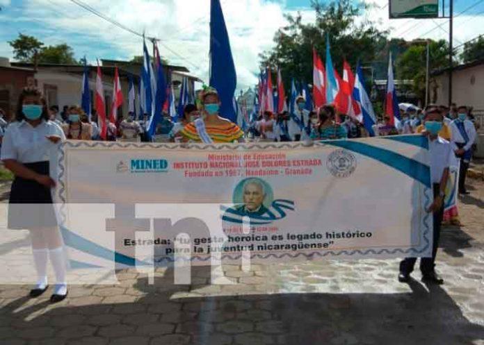 Nandaime celebran el 165 aniversario de la Batalla de San Jacinto