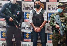 Capturan a alias 'Camilo 40', presunto cabecilla de 'Los Contadores